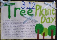 植树节英语手抄报(2015.312植树节)
