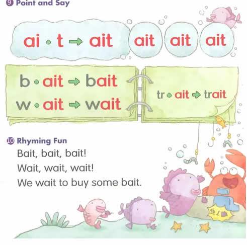 ai字母组合发音_儿童自然拼读法发音