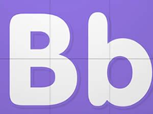 (輕松學習英文字母高級版6歲+)Learn Letter B