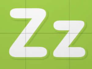 (輕松學習英文字母高級版6歲+)Learn Letter Z