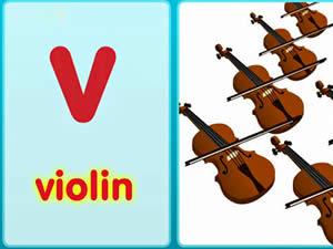(輕松學習英文字母初級版0-6歲)The V Song