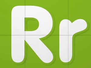 (輕松學習英文字母高級版6歲+)Learn Letter R