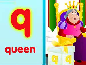 (輕松學習英文字母初級版0-6歲)The Q Song