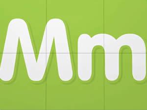 (輕松學習英文字母高級版6歲+)Learn Letter M