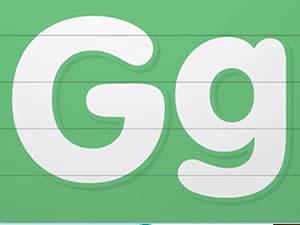 (輕松學習英文字母高級版6歲+)Learn Letter G
