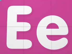 (輕松學習英文字母高級版6歲+)Learn Letter E