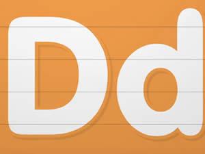 (輕松學習英文字母高級版6歲+)Learn Letter D