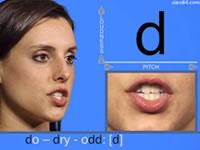 學習美式英語音標發音視頻-輔音[d]發音示范