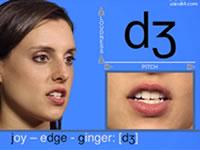 學習美式英語音標發音視頻-輔音[d?]發音示范