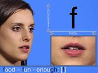 學習美式英語音標發音視頻-輔音[f]發音示范