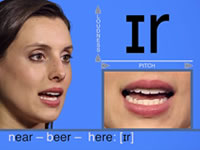 學習美式英語音標發音視頻-雙元音[?r]發音示范