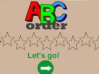 ABC字母順序游戲