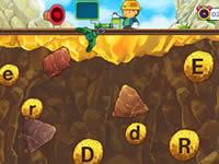 黃金礦工:抓字母-找金礦