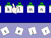 字母順序填空