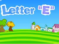 英文字母E字母歌