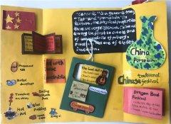 小学生China介绍主题英语手抄报