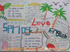 Love English小学生英语手抄报