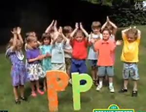 """Sesame Street:The letter """"P!"""""""