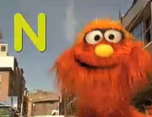 """Sesame Street:The letter """"N!"""""""