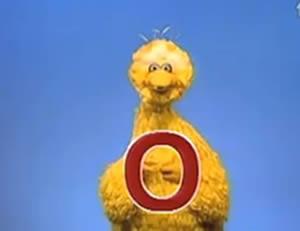 """Sesame Street:The letter """"O!"""""""