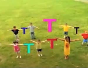 """Sesame Street:The letter """"T!"""""""