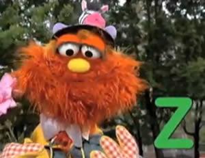 """Sesame Street:The letter """"Z!"""""""