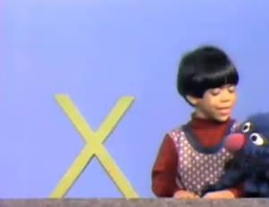 """Sesame Street:The letter """"X!"""""""