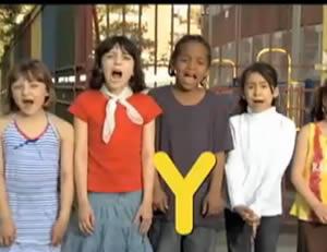 "Sesame Street:The letter ""Y!"""