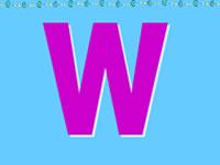 26个英文字母发音_字母W的发音