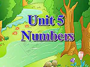 人教版新起点小学英语一年级上册 Unit5(2003版)