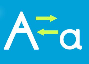 英文字母大小写转换
