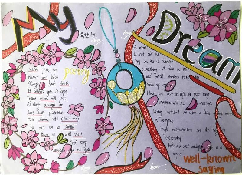 qq字母名字_My Dream小学生英语手抄报、英语小报展_巴士英语网